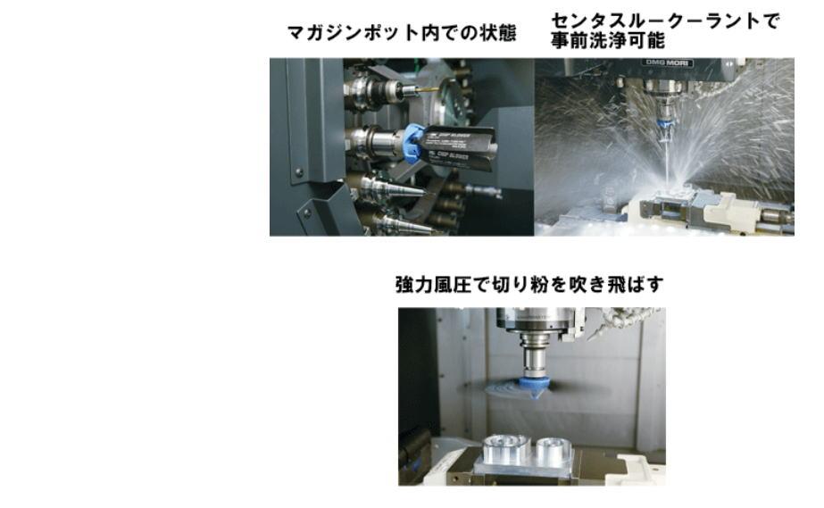 【大昭和精機】チップブロワー ST20-CBL160、ST20-CBL260、ST20-CBL330 ウイングの風圧で「切り粉」「切削油」を除去!